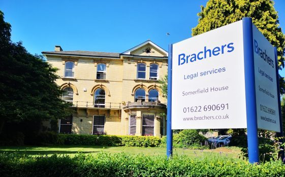 Brachers office at Somerfield House, Maidstone