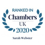Chambers UK 2020 Sarah Webster