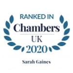 Chambers UK 2020 Sarah Gaines