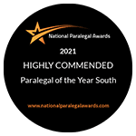Paralegal of the Year South 2021 – Highly Commended – Michael Cressey