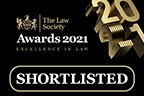 Law Society Excellence Awards 2021 – shortlisted