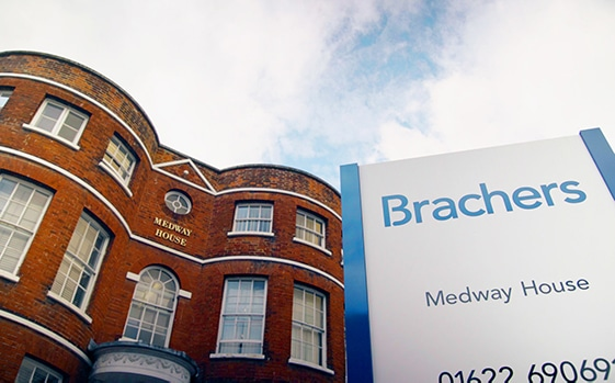 Brachers office in Maidstone