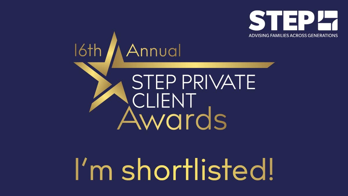 STEP Private Client Awards 2021 – shortlisted