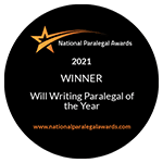 Will Writing Paralegal of the Year 2021 – Winner – Michael Cressey