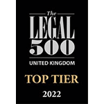 Legal 500 Top Tier Law Firm 2022